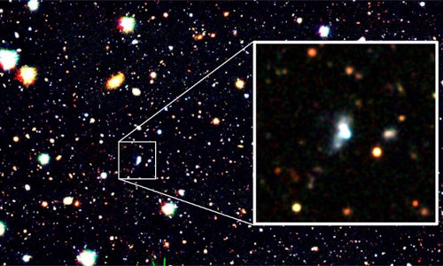 The star with the lowest oxygen abundance.